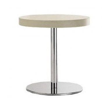Hugo Round C1 table base - Brushed S/S