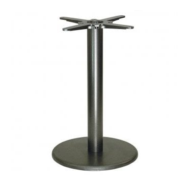 Hugo Round D1 table base - Black