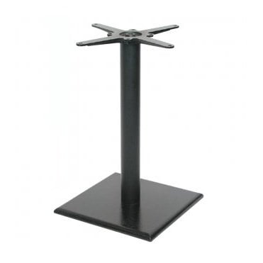 Hugo Square (RC) P1 table base - Black