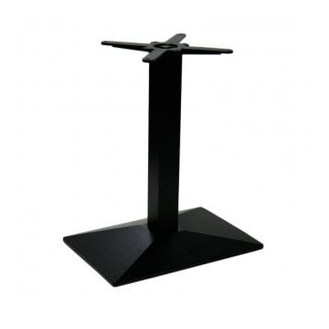 Lexis Oblong C2 table base - Black