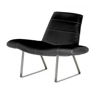 Mies retro lounge chair
