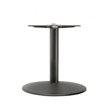 Napier Round C3 table base - Black