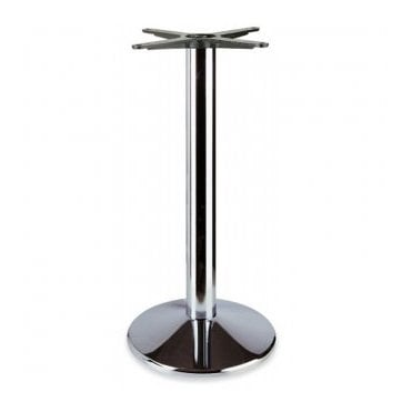 Napier Round D1 table base - Chrome