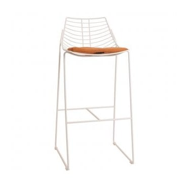 Net Stool chrome